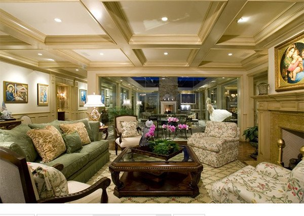 Traditional Living Room Ceiling 15 Beautiful Traditional Coffered Ceiling Living Rooms