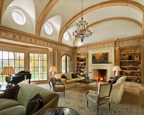 Traditional Living Room Ceiling Living Room Vaulted Ceiling Home Design Ideas