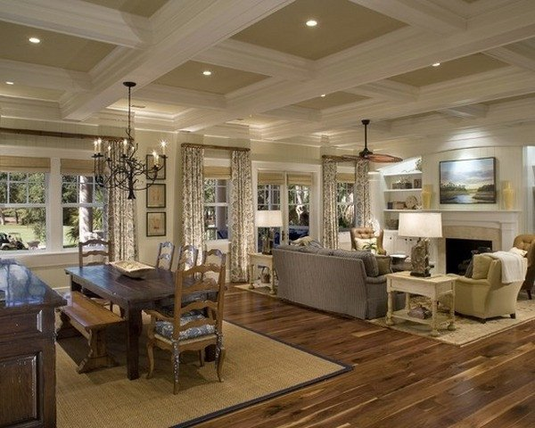 Traditional Living Room Ceiling the Beauty and Advantages Of Coffered Ceilings In Home Design
