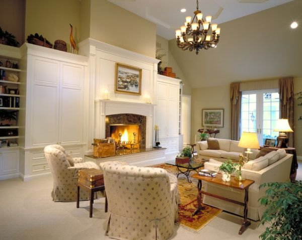 Traditional Living Room Fireplace 125 Living Room Design Ideas Focusing Styles and