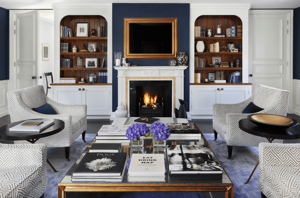 Traditional Living Room Fireplace 20 Beautiful Living Rooms with Fireplaces