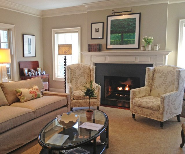 Traditional Living Room Fireplace Charming Traditional Living Room with Cozy Fireplace