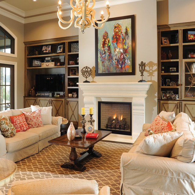 Traditional Living Room Fireplace Devonshire Traditional Fireplace Design Collection by