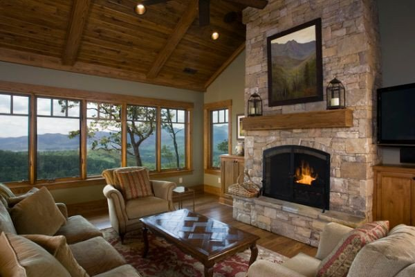 Traditional Living Room Fireplace Fireplace and Woodstove Designs that Really Heat Things Up