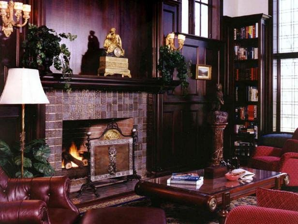 Traditional Living Room Fireplace Page