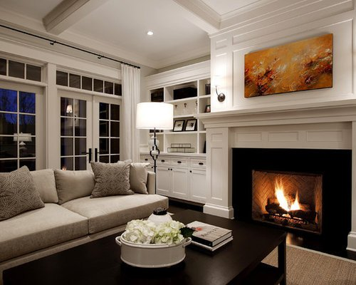 Traditional Living Room Fireplace Traditional Living Room Design Ideas Remodels & S
