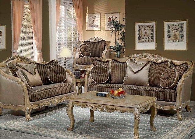 Traditional Living Room Furniture sofa Set Traditional Living Room Los Angeles by
