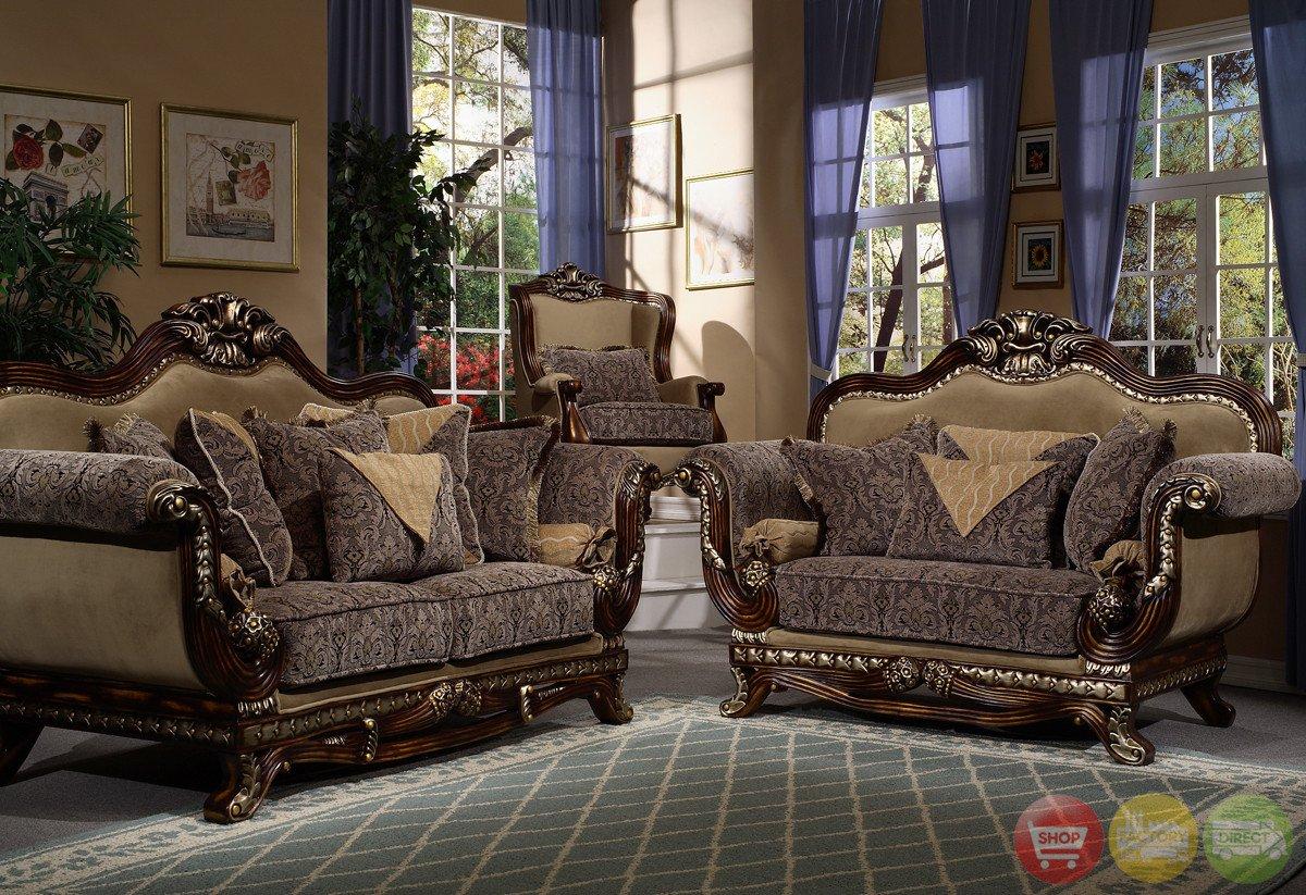 Traditional Living Room Furniture Victorian Inspired formal Living Room Sets