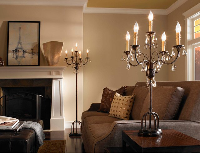 Traditional Living Room Lamps Home Ficedecoration