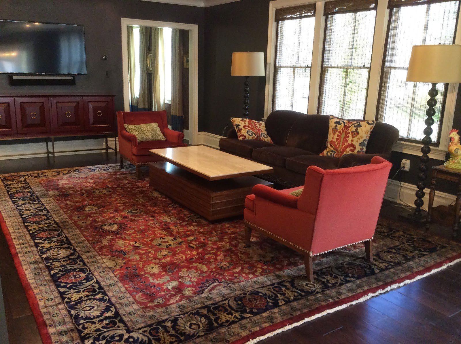 Traditional Living Room Rugs Brandon oriental Rugs Home Renovation In Princeton Nj