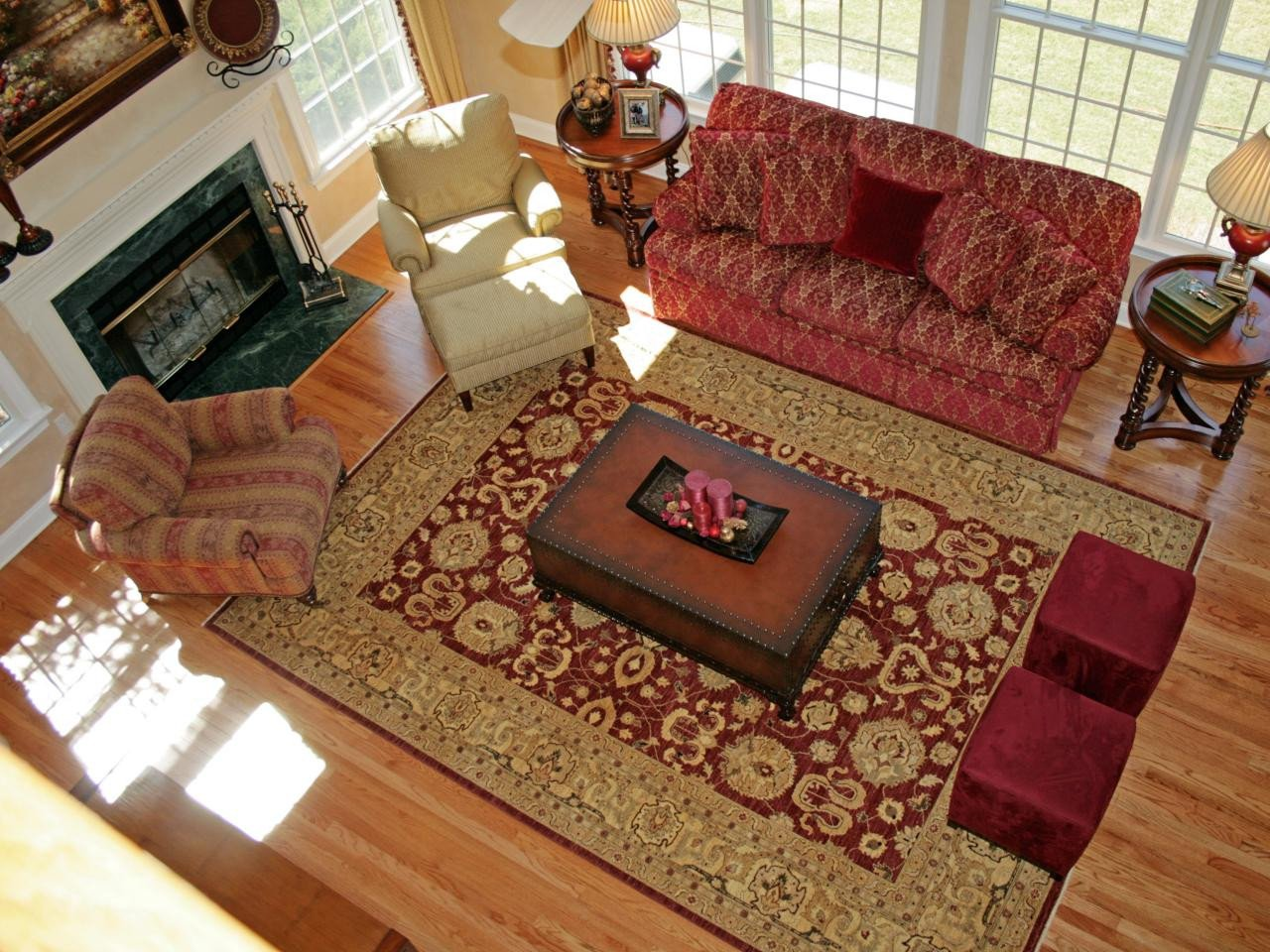 Traditional Living Room Rugs Page