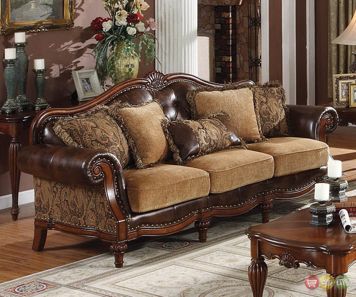 Traditional Living Room Sets Cherry Wood Living Room Furniture