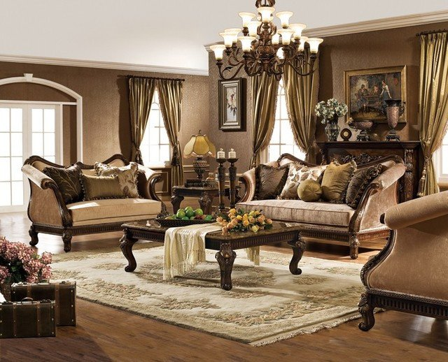 Traditional Living Room Sets Hampton Living Room Set Traditional Living Room