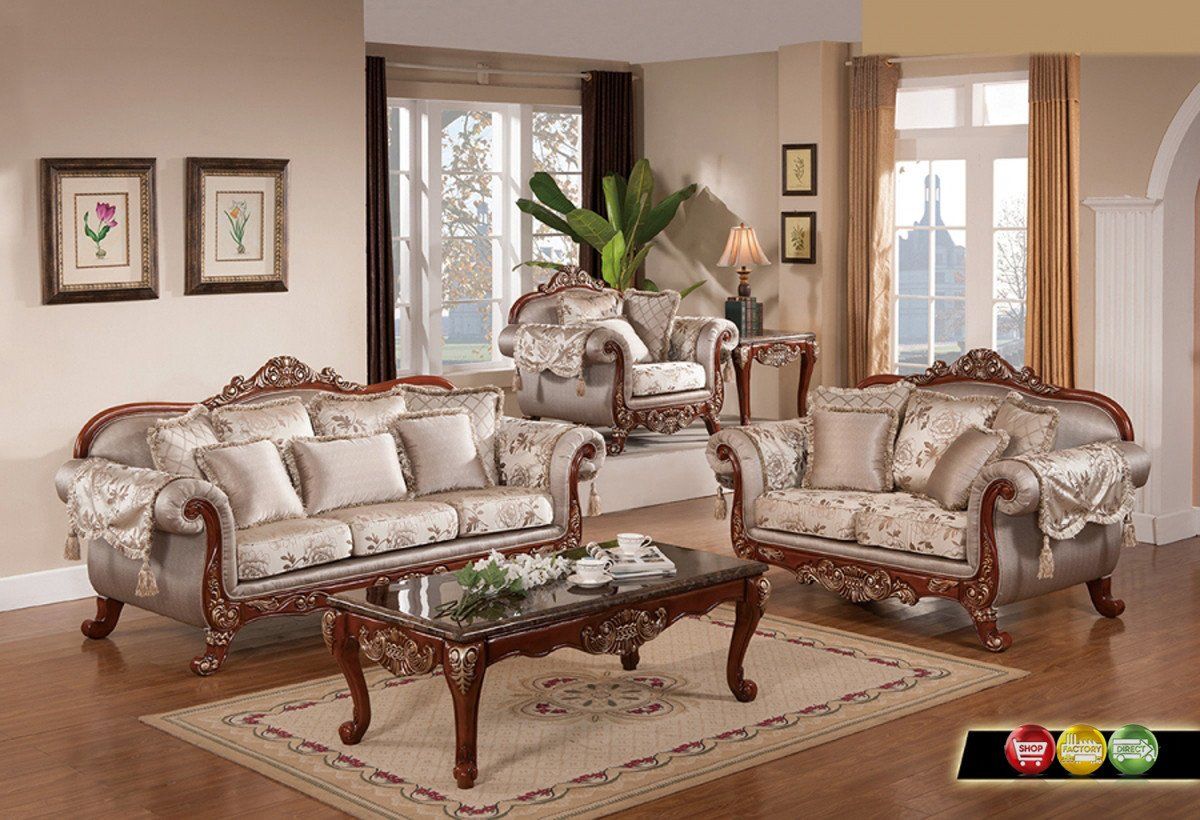 Traditional Living Room Sets Luxurious Traditional formal Living Room Furniture Exposed