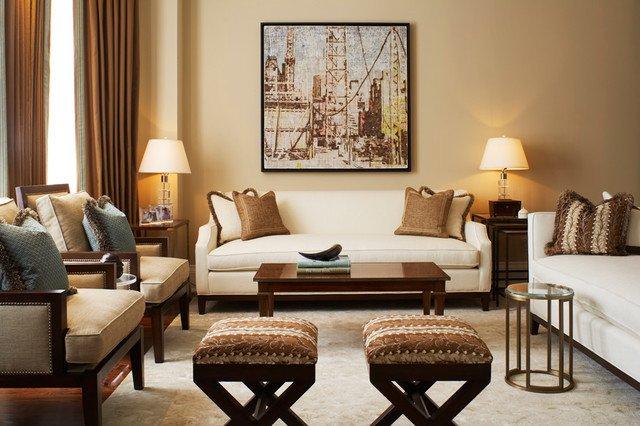 Traditional Living Room toronto Contemporary Classic Traditional Living Room toronto