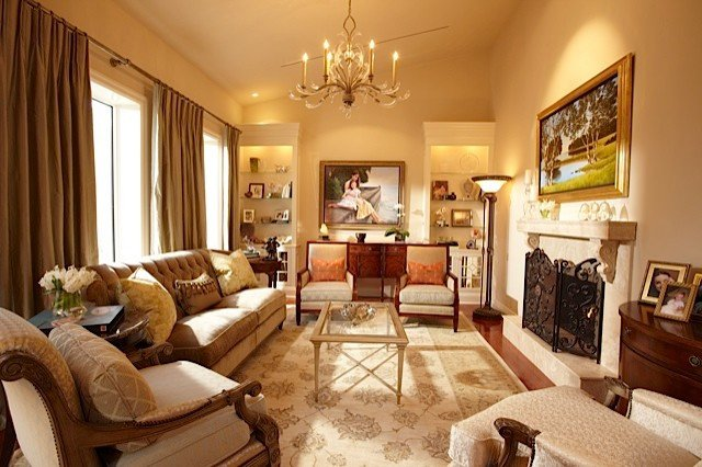 Traditional Living Room toronto Living Luxury Traditional Living Room by