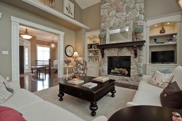 Traditional Living Room toronto Living Room Traditional Living Room by
