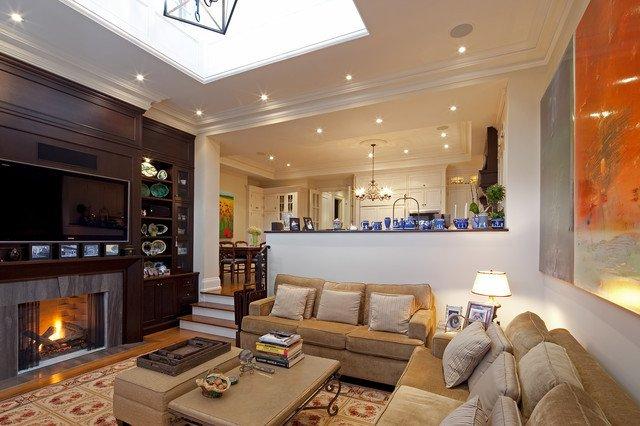Traditional Living Room toronto Livingroom Traditional Living Room by
