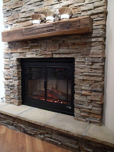 Traditional Living Room toronto Stone Fireplaces Traditional Living Room toronto