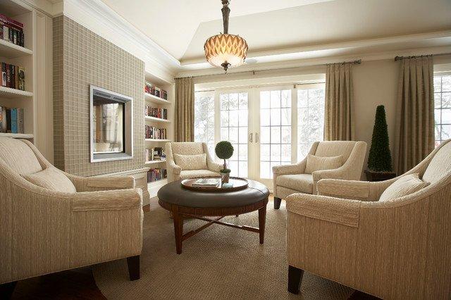 Traditional Living Room toronto Suburban Bliss Traditional Living Room by