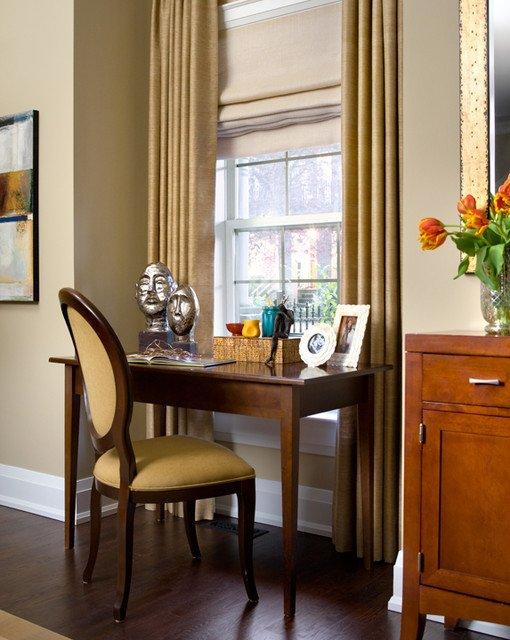 Traditional Living Room toronto toronto Living Room with Desk Traditional Living Room