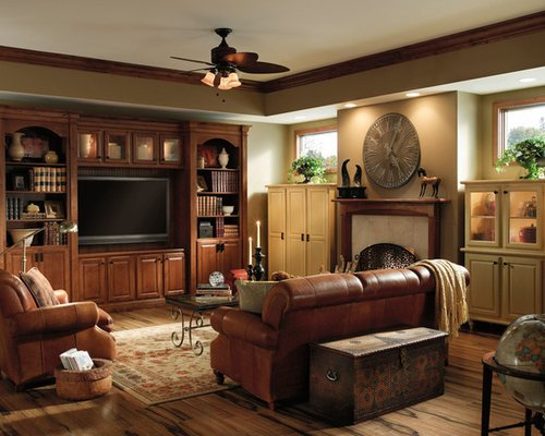 Traditional Living Room Tv Flat Screen Tv Entertainment Center Design Ideas & Remodel