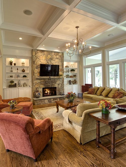 Traditional Living Room Tv Traditional Living Room Design Ideas Remodels & S