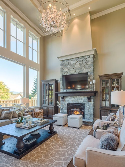 Traditional Living Room Tv Traditional Living Room Design Ideas Renovations & S