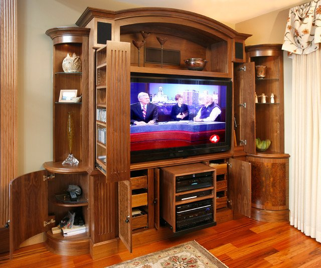 Traditional Living Room Tv Tv and Media Wall Unit Traditional Living Room Other