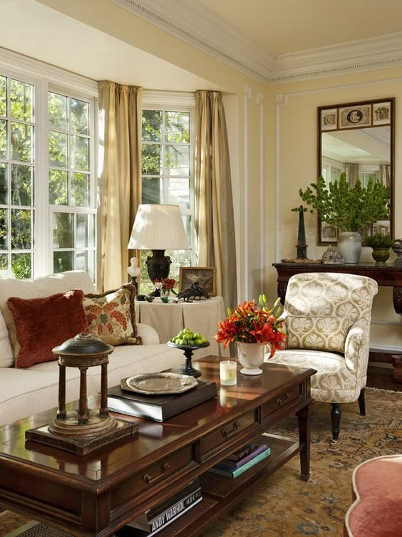 Traditional Living Room Windows Beautiful Classic and Window On Pinterest