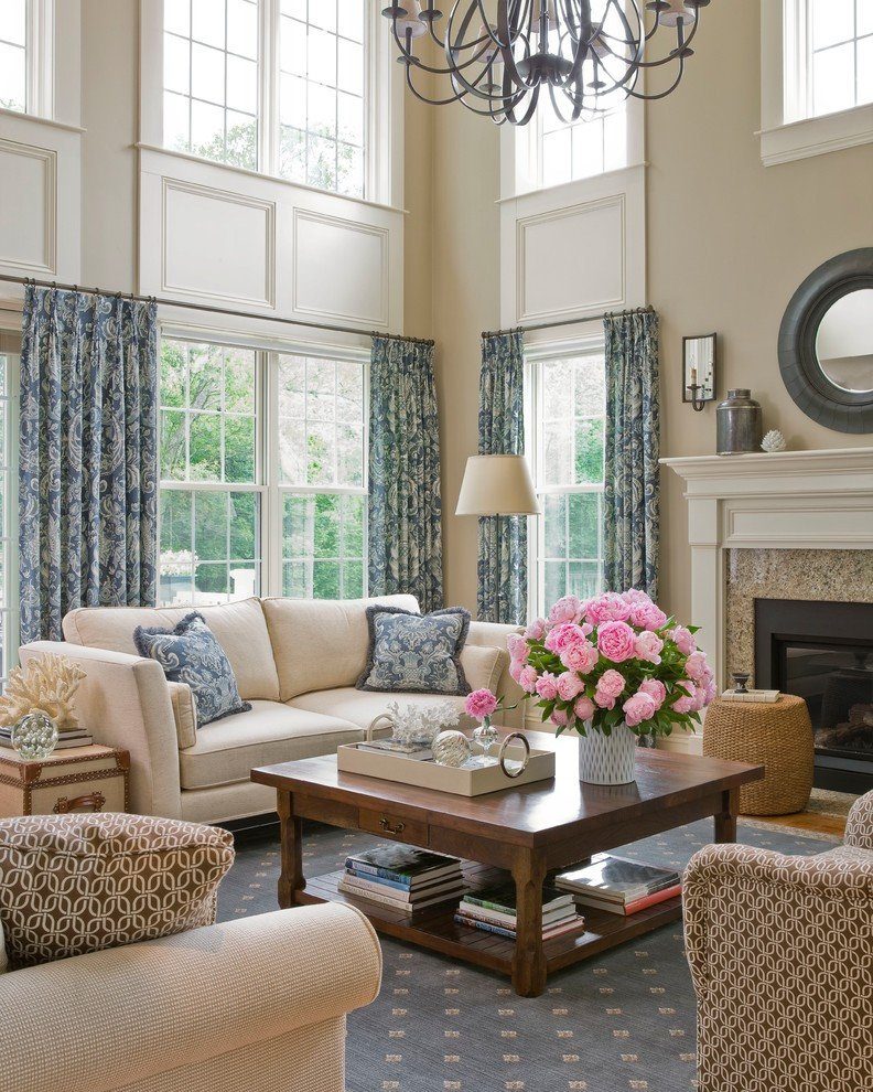 Traditional Living Room Windows Get Stylin with Pantone S top 6 Trending Colors for 2014