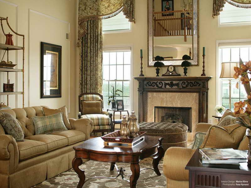 Traditional Living Room Windows Living Room Window Treatment Ideas Home Ideas Blog