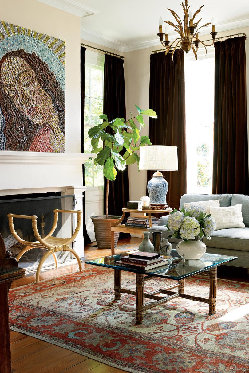 Traditional Modern Living Room 106 Living Room Decorating Ideas southern Living
