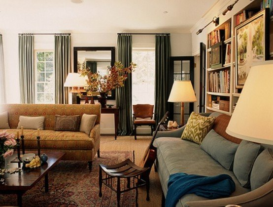 Traditional Modern Living Room Decorating Ideas Blending the Traditional and Modern Living Room Design