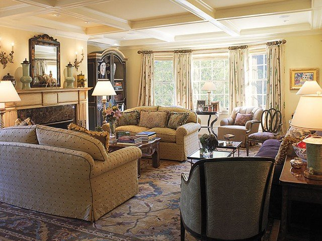 Traditional Modern Living Room Difference Between Traditional Decoration and Modern Home