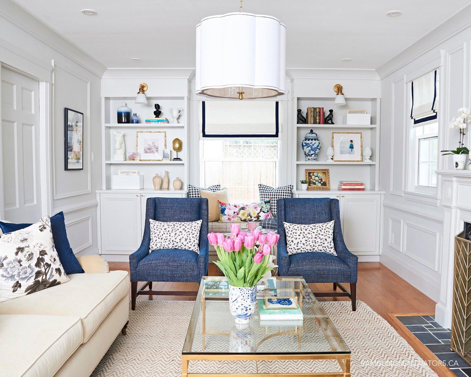 Traditional Modern Living Room E Room Challenge Spring 2017 Week 6