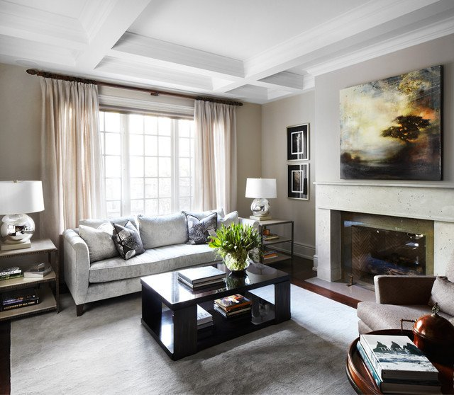 Traditional Modern Living Room Kingsway Home Traditional Living Room by
