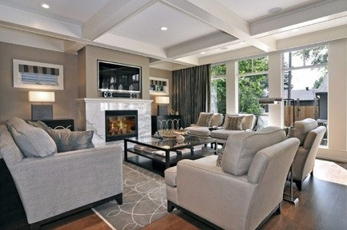 Traditional Modern Living Room Luxurious Modern and Traditional Living Room Design Ideas