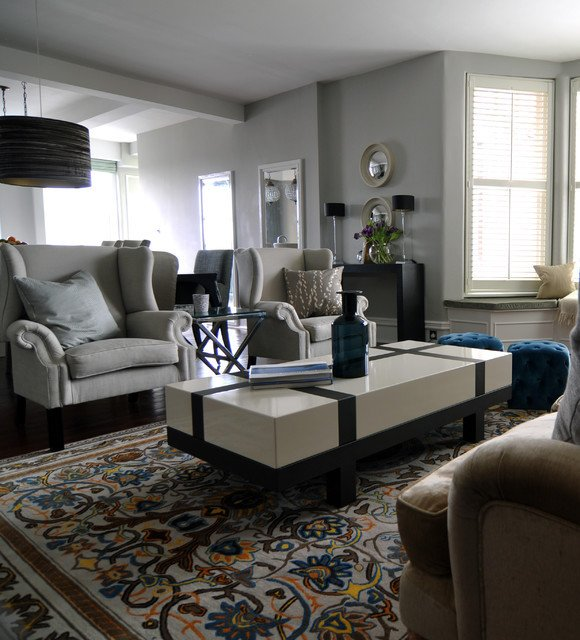 Traditional Modern Living Room Traditional Modern Living Room
