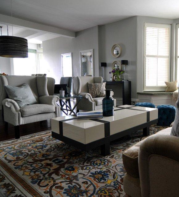 Traditional Modern Living Room Traditional Modern Living Room