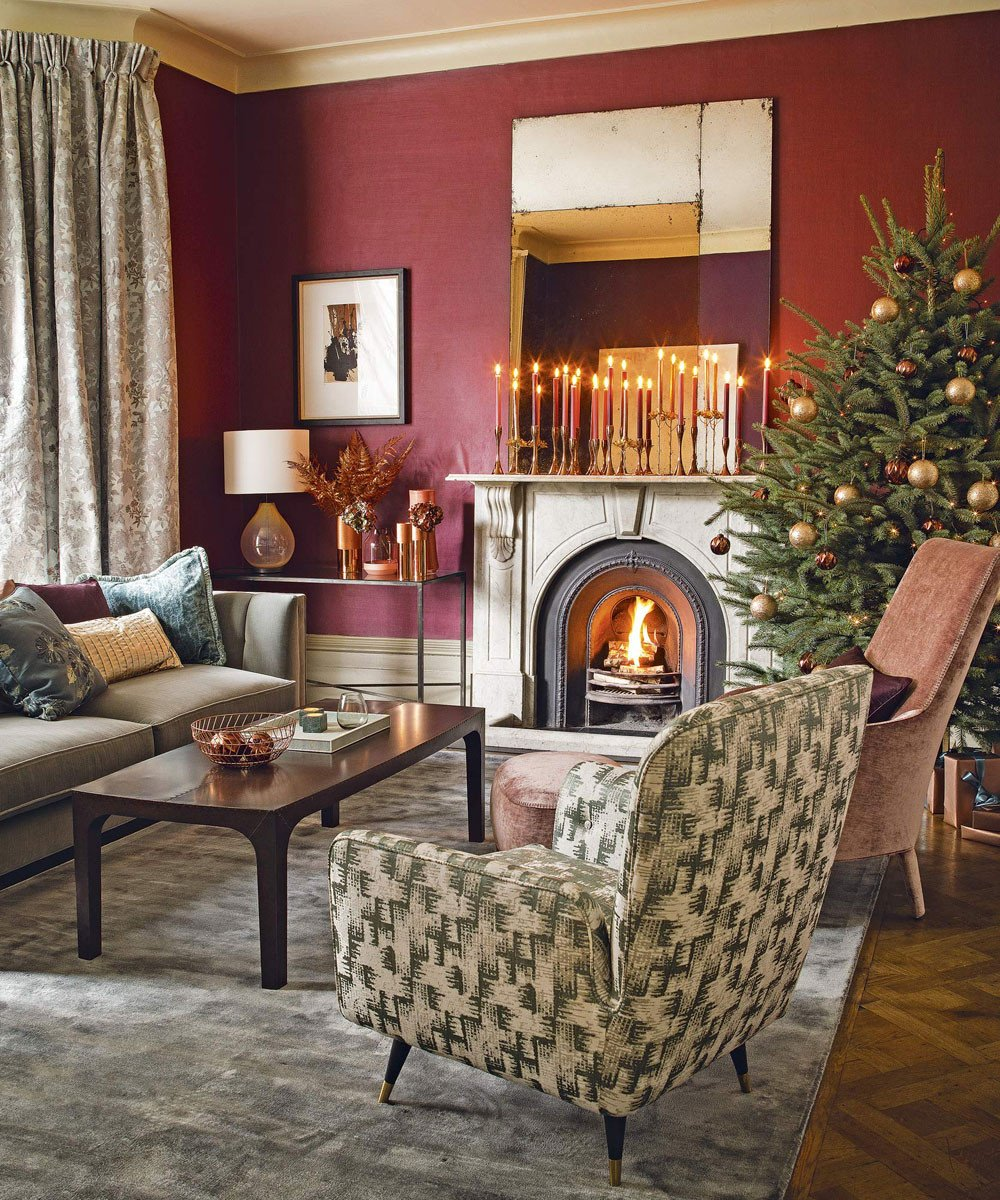 Traditional Small Living Room Christmas Living Room Decorating Ideas – Living Room for