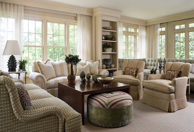Traditional Style Living Room Living Room 5 Traditional Living Room New York by