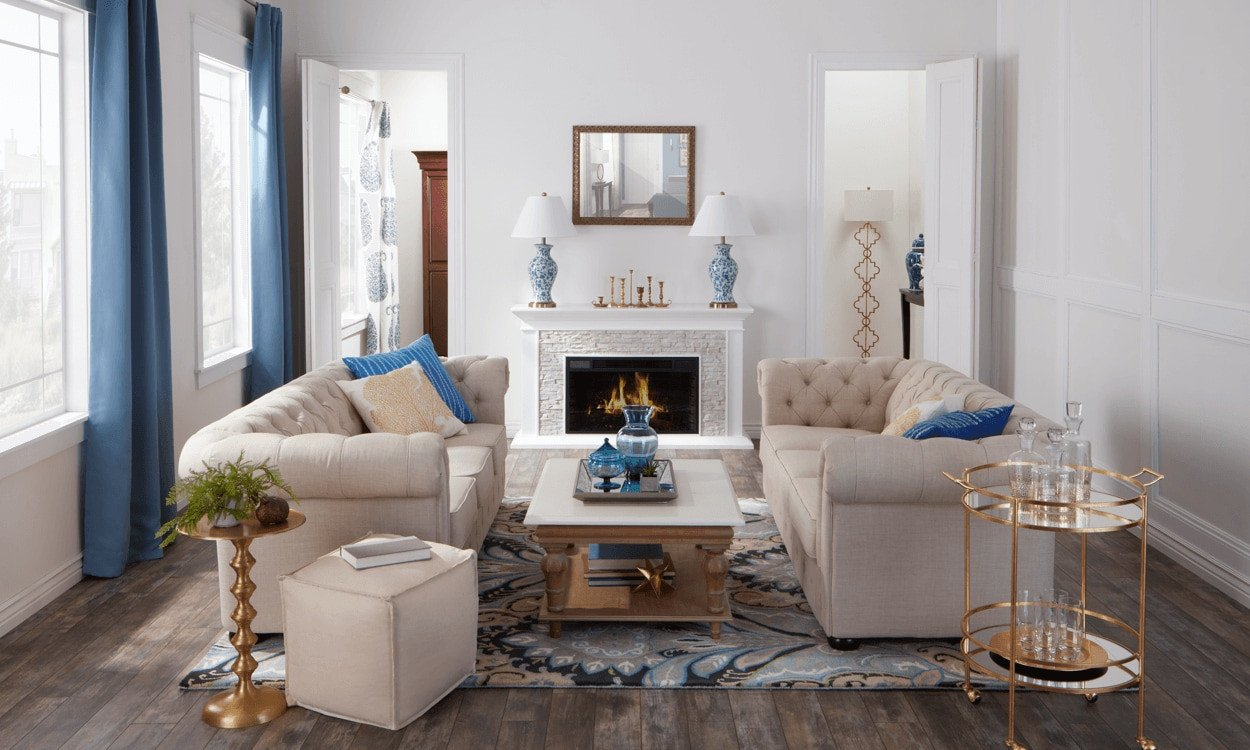 Traditional Style Living Room New Traditional An Updated Home Decor Classic Overstock