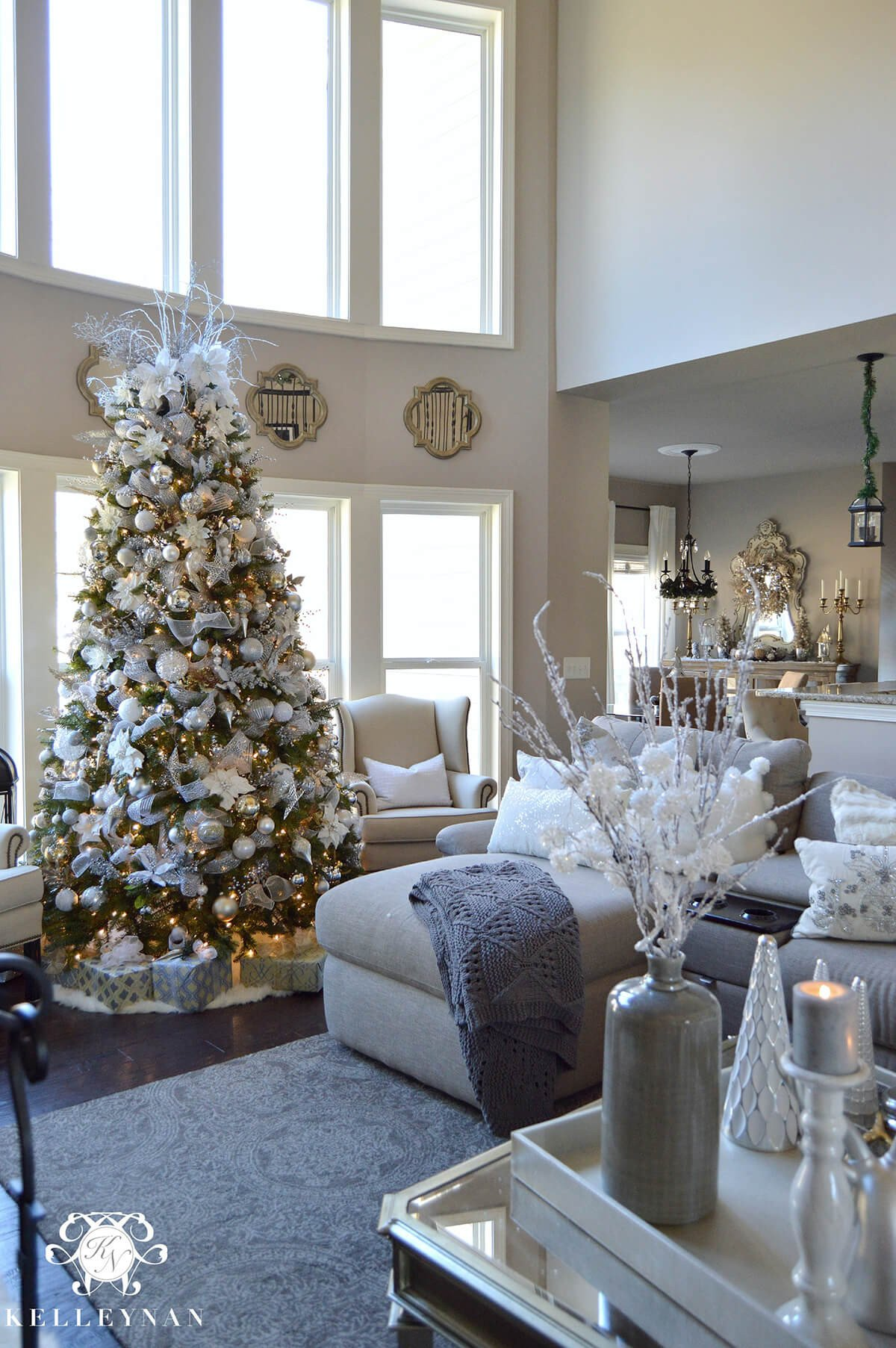 Tree Decor for Living Room 32 Best Christmas Living Room Decor Ideas and Designs for 2019
