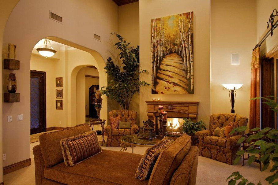 Tuscan Living Room Decorating Ideas Tuscan Decor for Your Interior Design