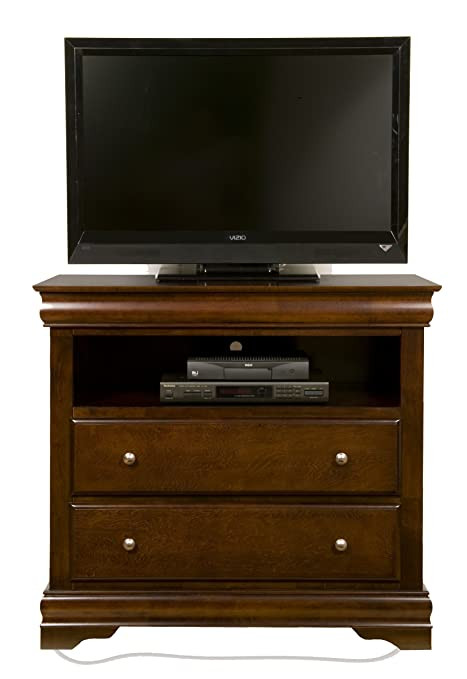 Tv Media Chest Bedroom Amazon Alpine Furniture Chesapeake 2 Drawer Media Chest