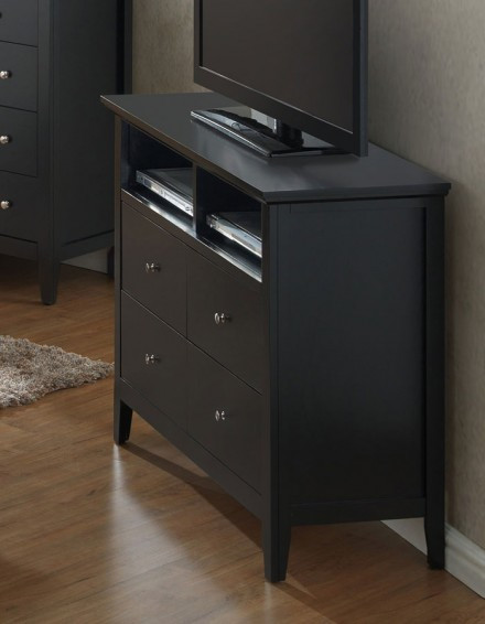 Tv Media Chest Bedroom G5450 Media Chest Black