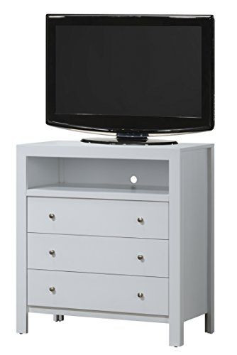 Tv Media Chest Bedroom Glory Furniture G2490 Tv Media Chest White In 2019