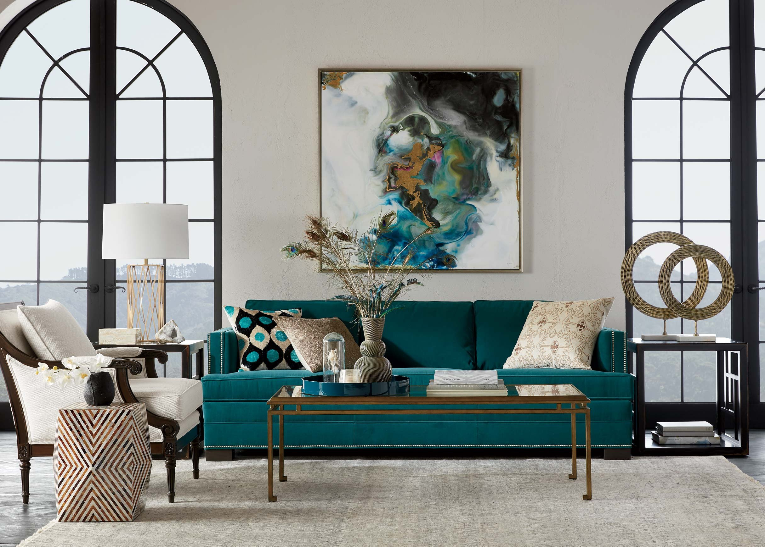 Urban Contemporary Living Room Contemporary Urban Living Room Ethan Allen