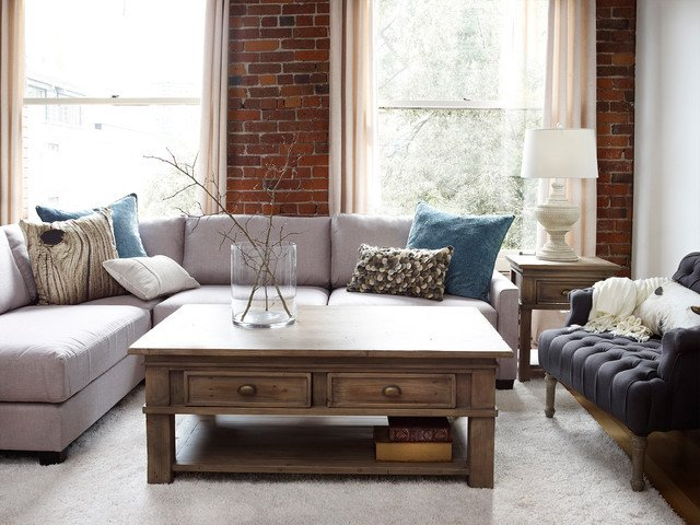 Urban Contemporary Living Room Modern Country Living Traditional Living Room